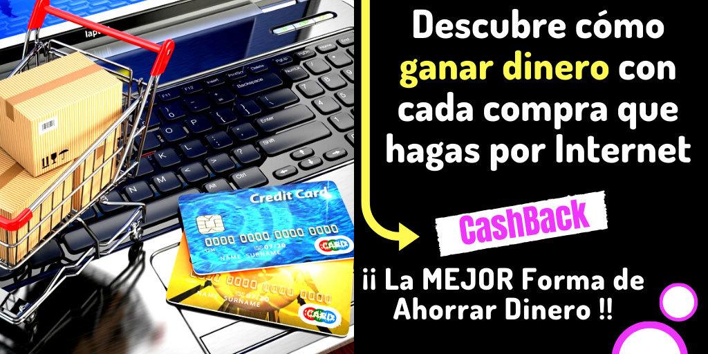 ✅ Top 5 Mejores Páginas CashBack 2020 para Ahorrar Dinero en compras por Internet.