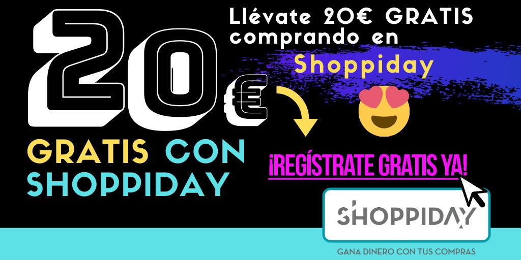 Promoción de bienvenida Shoppiday