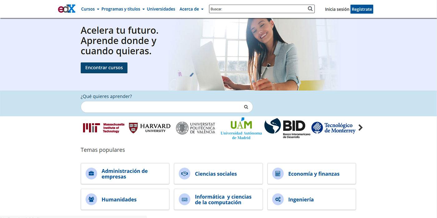 edX - Cursos Programas Títulos y Universidades